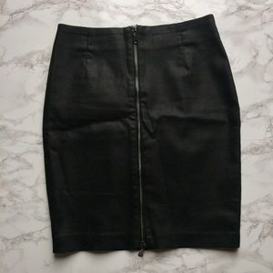 H&M Skirts - Black Zippered Skirt